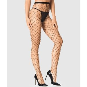 LAST ONE!! NWT Sexy Black Fishnet Stockings/Tights
